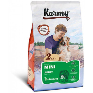 Karmy Mini Adult Телятина