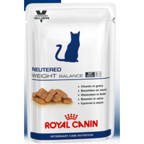 Royal Canin VCN Neutered Weight Balance (ВКН Ньютрид Вэйт Баланс), пауч