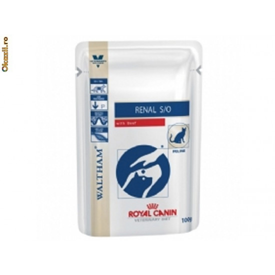 Royal Canin Renal with beef (Ренал говядина, пауч), 0,85кг